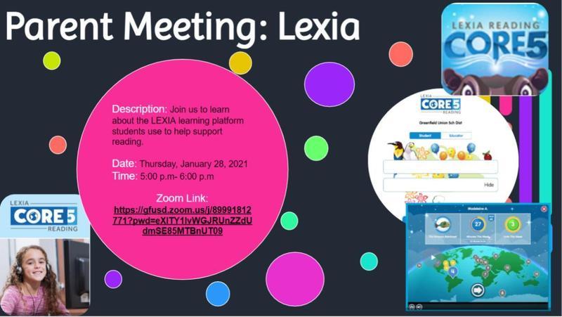 Parent Meeting: Lexia Thumbnail Image