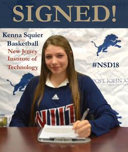 Kenna Squier Signing Day NLI