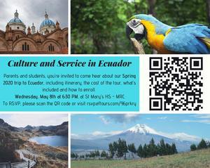 Ecuador Mission Trip 2020