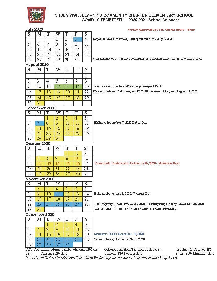 Cvesd Calendar 2021-22 Wallpaper