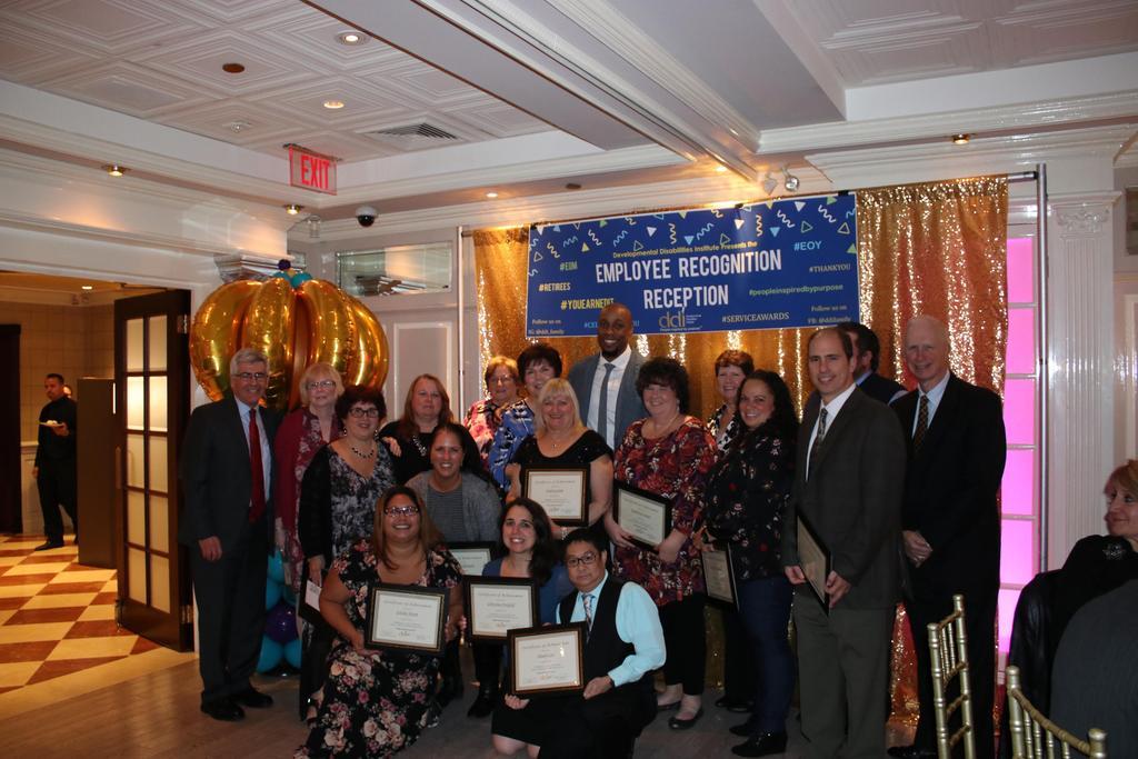 15-Year Service Award recipient