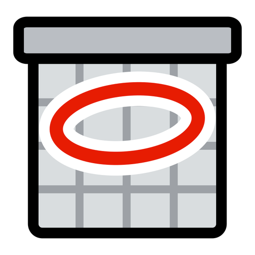 Clip art of calendar