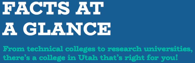 Utah College Facts