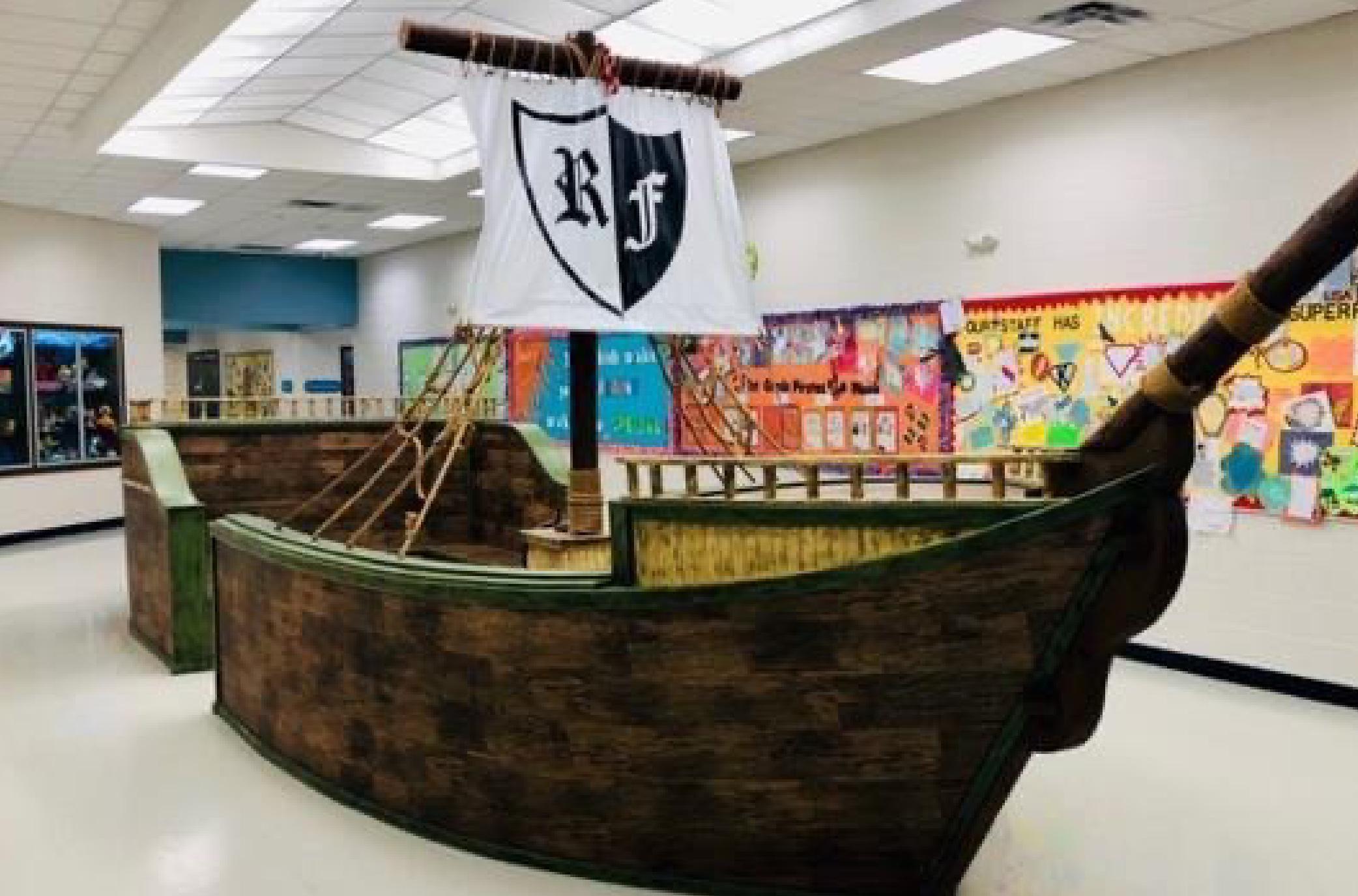 Live Oak Learning Center Pirate Ship
