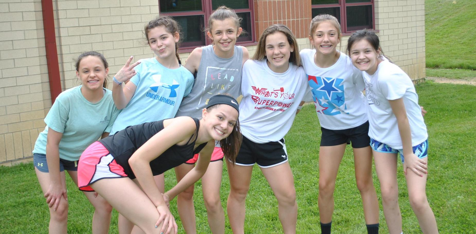 KMS Students at Field Day