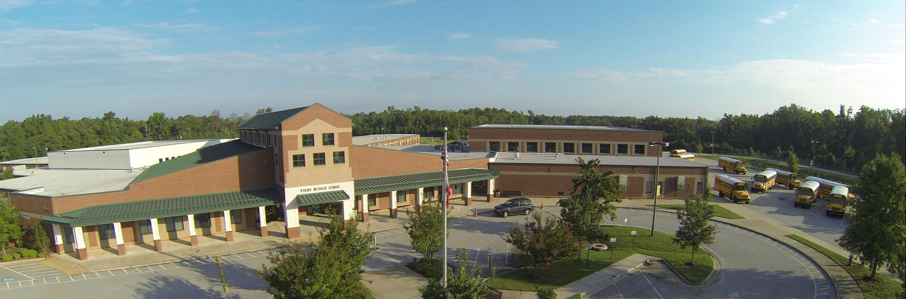 Evans Middle Aerial View