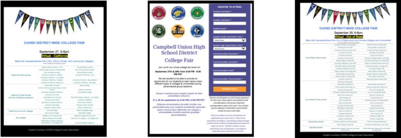 cuhsd virtual college fairs sept 27 & 29 2021