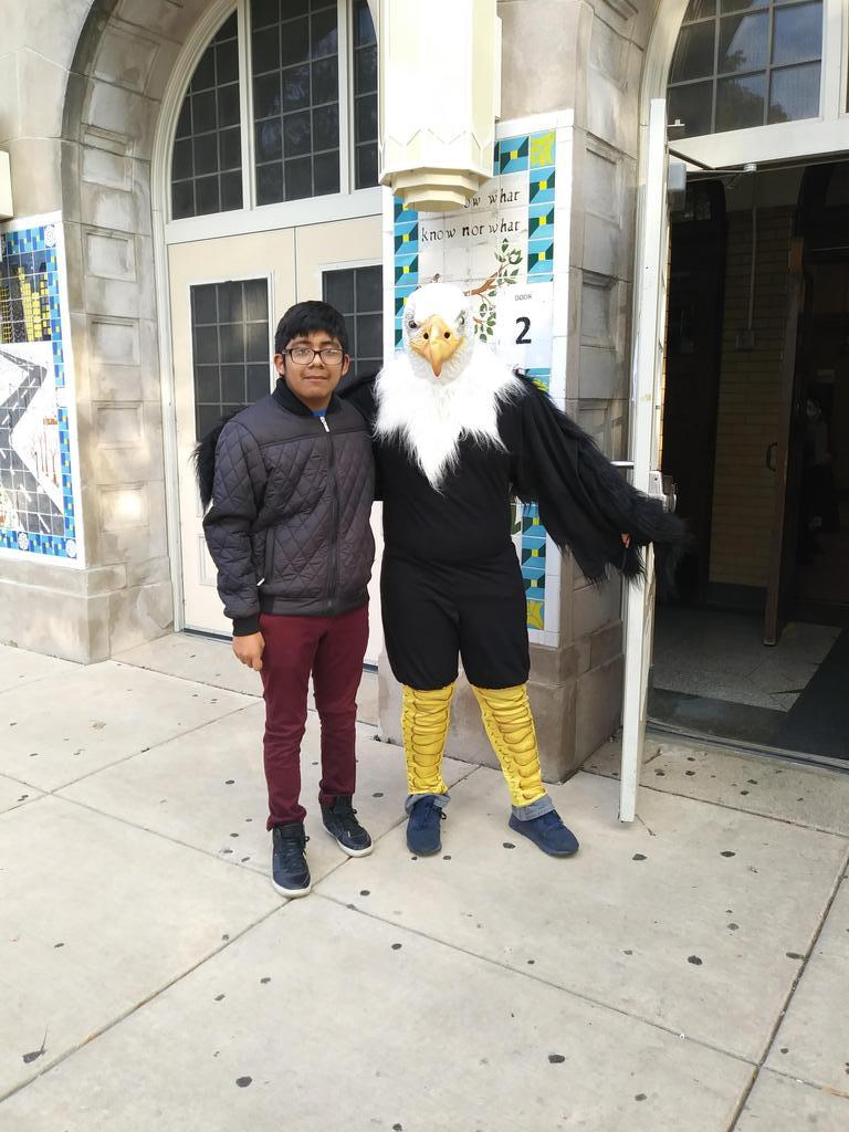The Hancock Eagle and friends