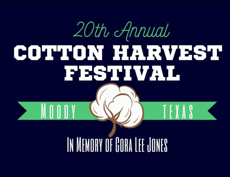 cotton harvest festival logo