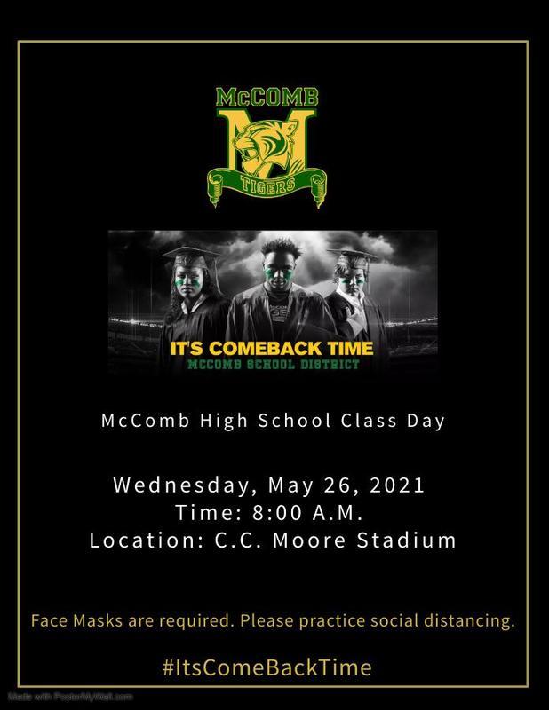 McComb High School Class Day 2021