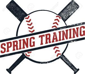 spring training clip art