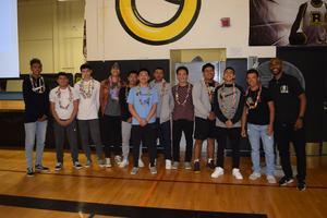 Bassett High School Boys Basketball Team