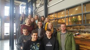 TKMS students get a better understanding for health and nutrition by visiting a farm-to-table restaurant in Kalamazoo.