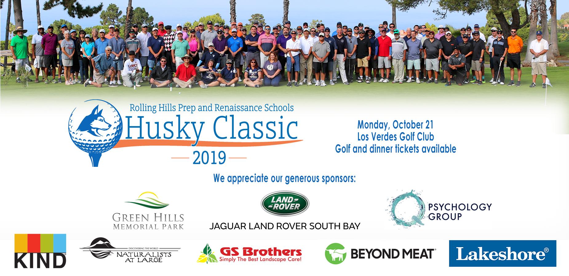 Husky Classic 2019 Sponsor Banner
