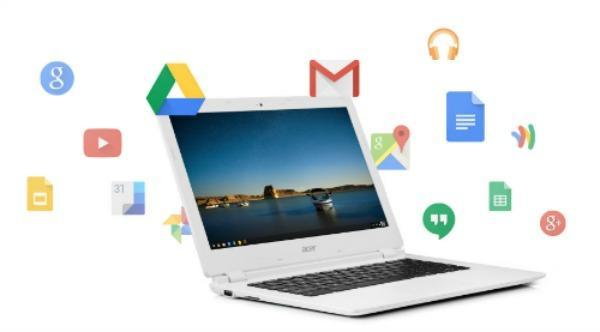 a graphic of a chromebook
