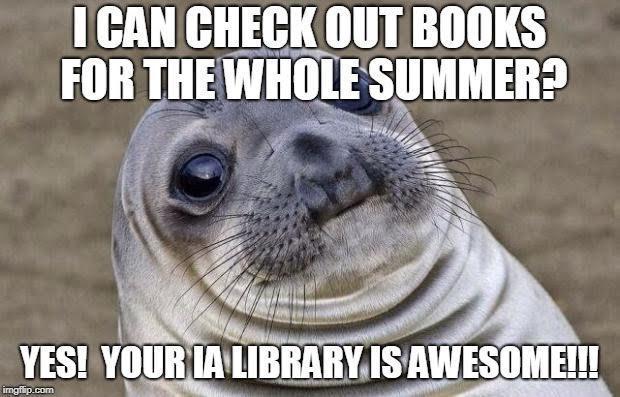 library meme