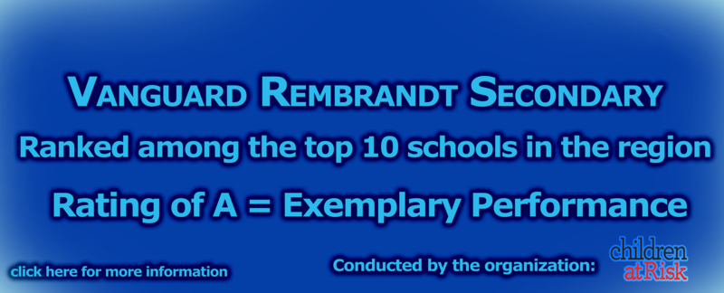 Rembrandt Secondary ranks top 10 in the Region! Featured Photo