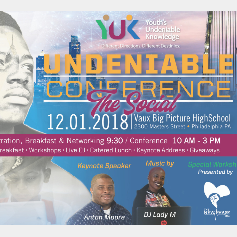 Youth's Undeniable Knowledge holds its conference at Vaux