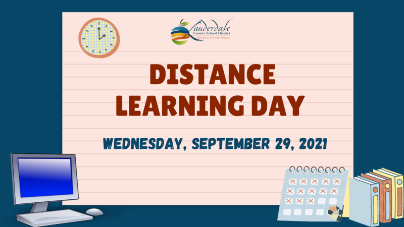 Distance Learning Day Graphic