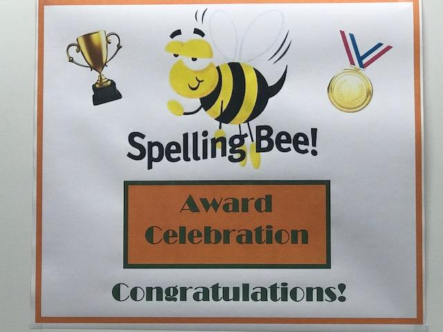 Spelling Bee Reception Poster