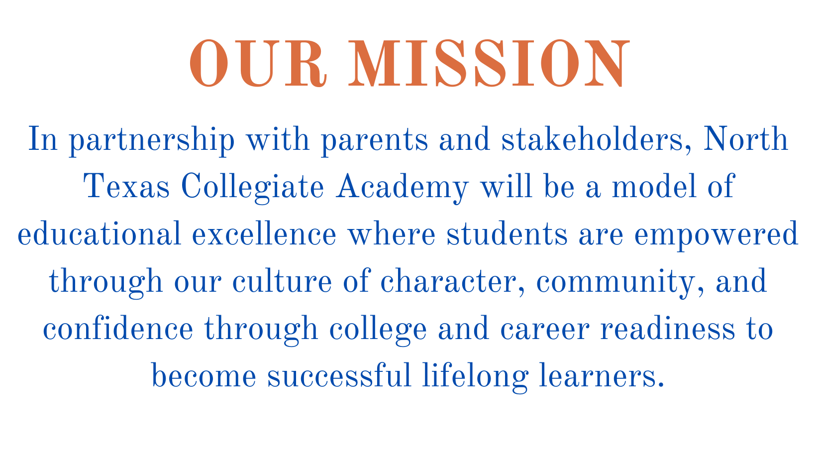 NTxCA Mission Statement