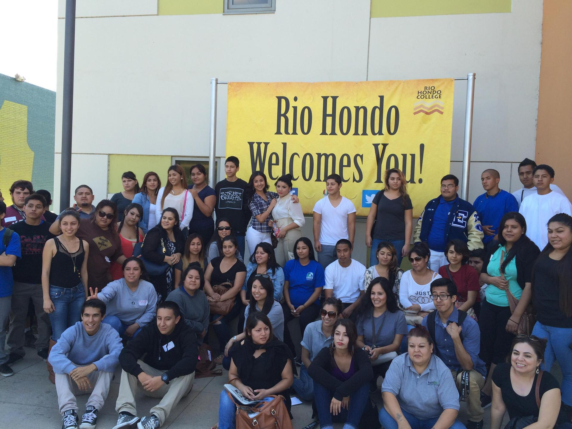 SGVCC students at Rio Hondo College