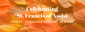 Celebrating St. Francis of Assisi web news.png