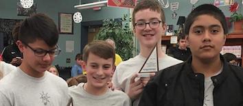 Edison Junior High mathcounts
