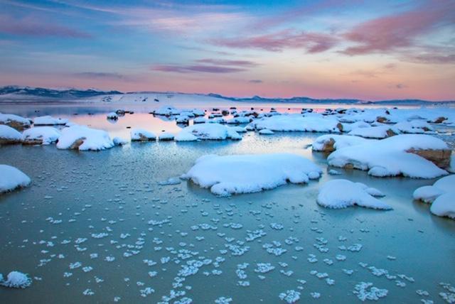 Winter at Mono Lake