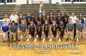 Frenship Varsity Basketball Team Picture
