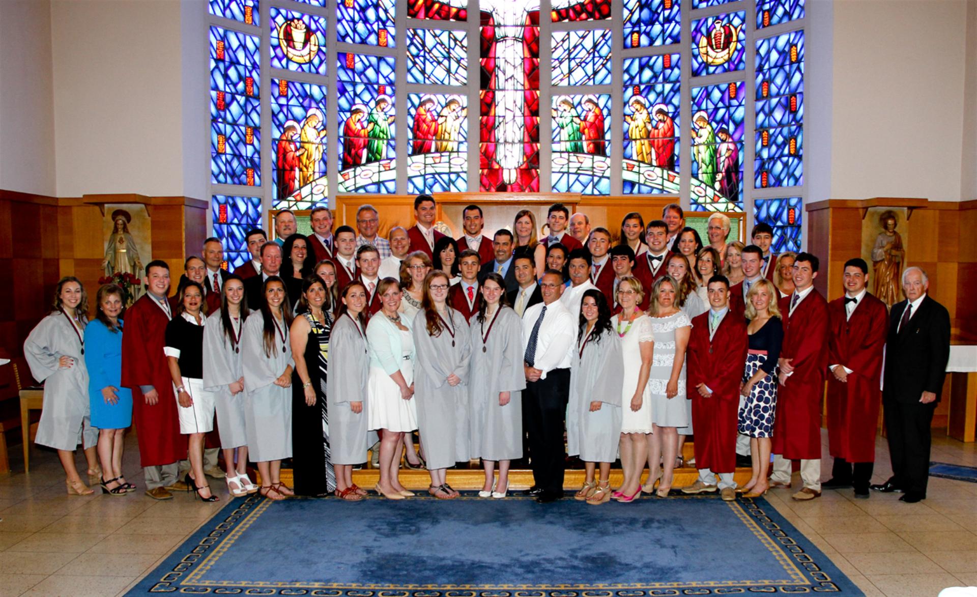 Graduation Alumni Medal Ceremony