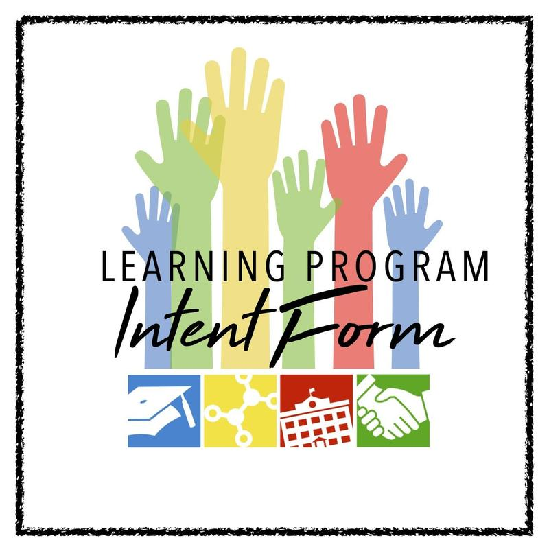 Elementary Learning Intent Form