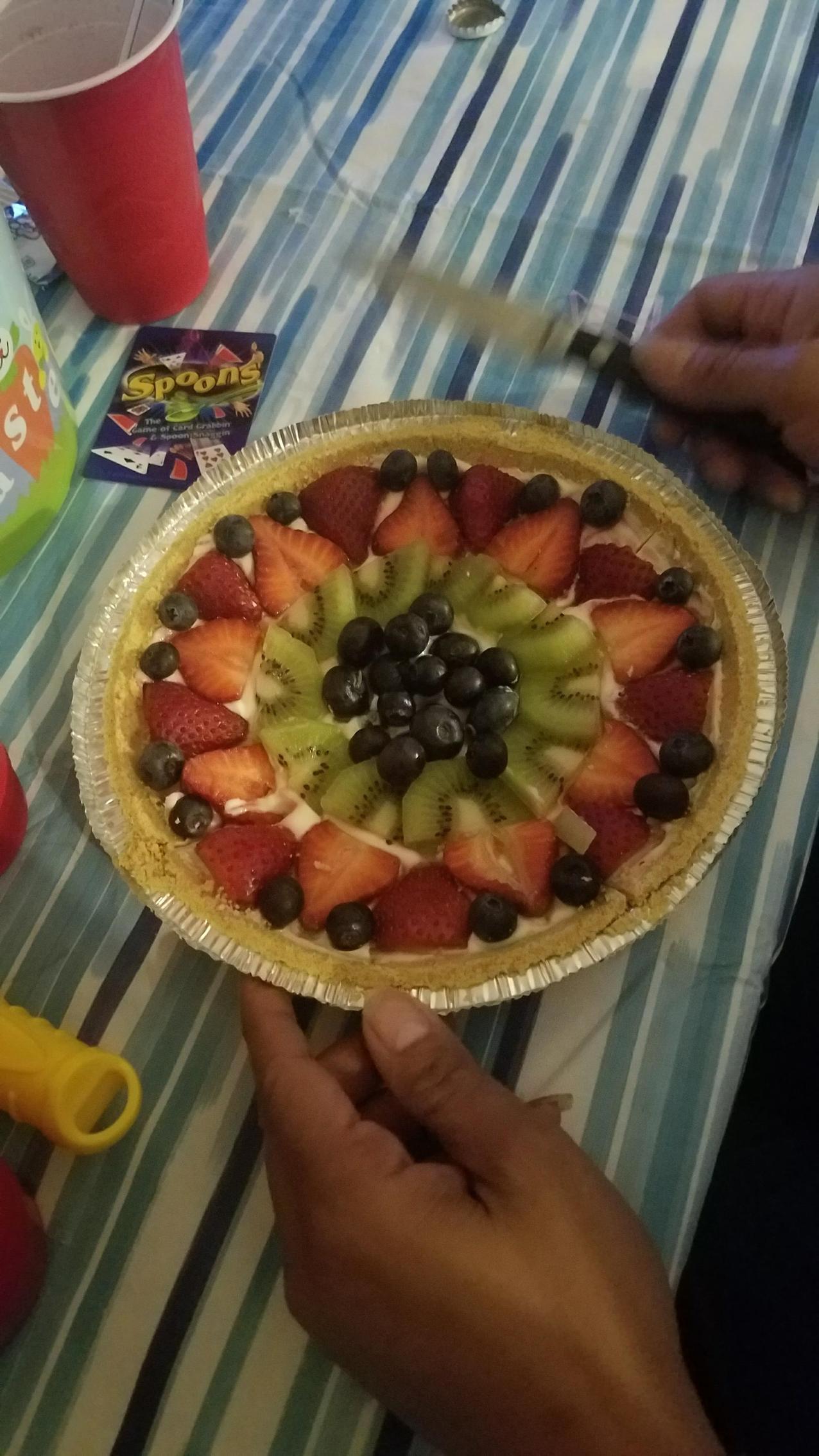 The Famous Fruit Tart