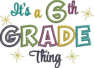 6th grade logo