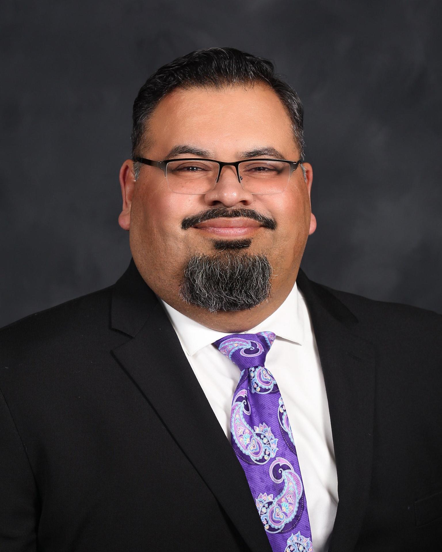 Photo of Superintendent Robert Bravo