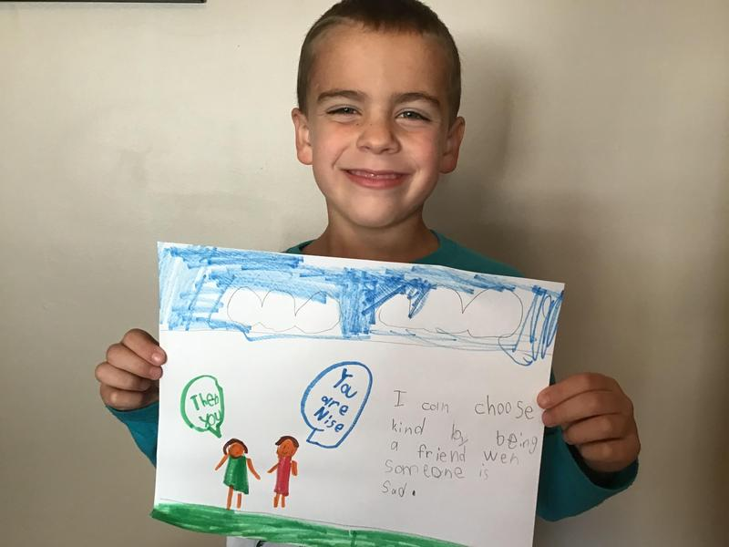 First Grade Celebrates Kindness Featured Photo