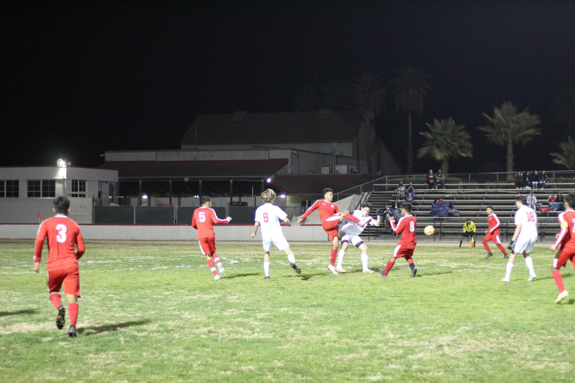 Antonio Ochoa kicking
