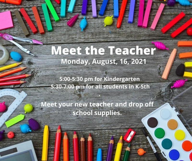 Meet the Teacher/School Supply Drop Off Featured Photo