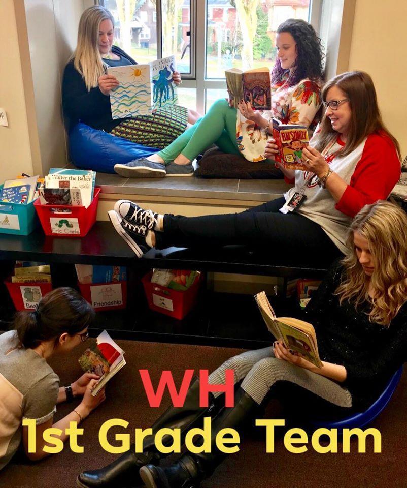 The 1st Grade Team