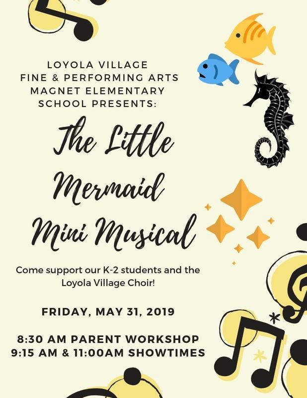 The Little Mermaid Mini Musical Thumbnail Image