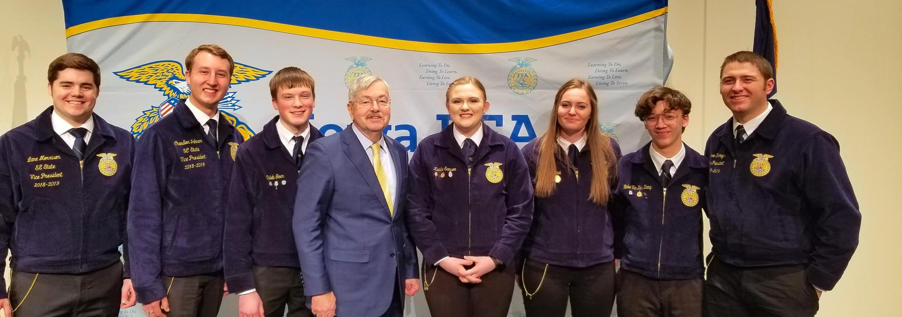 FFA award presented by governor