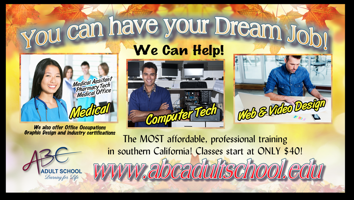 You can have your Dream Job!