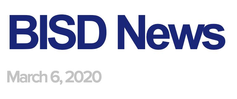 BISD News 3/6/20