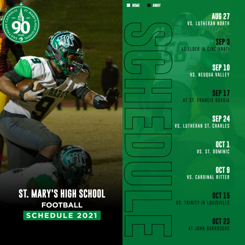 Image of the 2021 Football Schedule