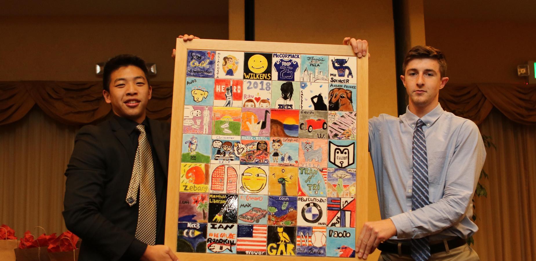 Seniors Presenting Senior Tiles