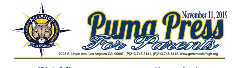 Weekly Puma Press Thumbnail Image