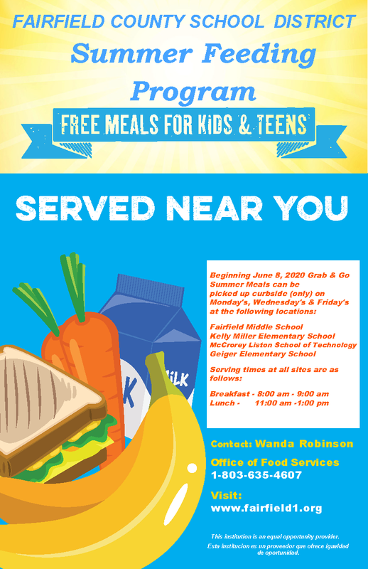 FCSD Summer Feeding Program Featured Photo