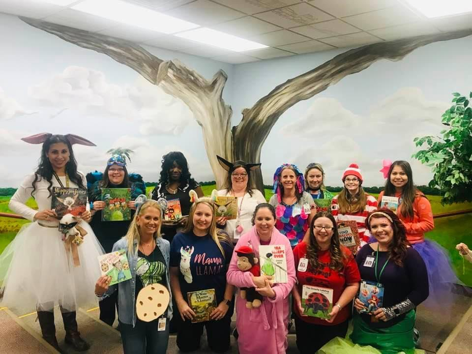1st Grade Character Day