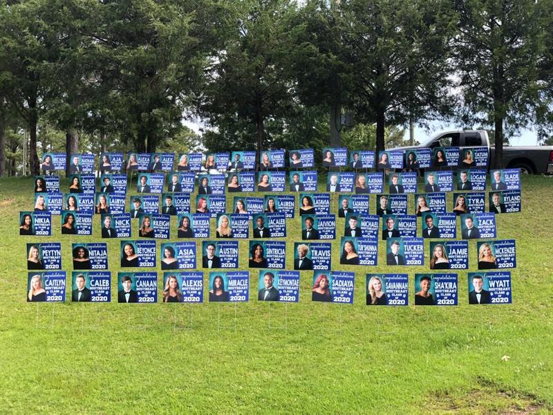 Southeast High School Class of 2020 Yard Signs Photo