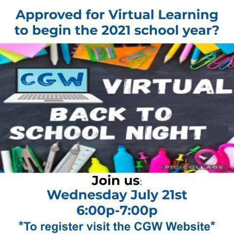 Virtual Back to School Parent Meeting